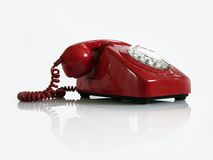 Telephone. Old fashioned telephone Royalty Free Stock Photos