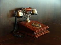 Telephone. Ancient telephone Stock Photo