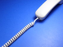 Telephone. And cord stock photos