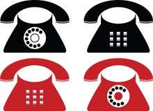 Telephone. Made in Illustartor (eps8 Royalty Free Stock Photo