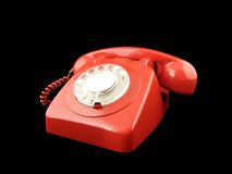 Telephone. Red phone Royalty Free Stock Images
