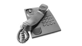 Telephone. Device isolated on white background. (with clipping path Stock Images