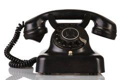 Telephone. A old telephone on white background Royalty Free Stock Image
