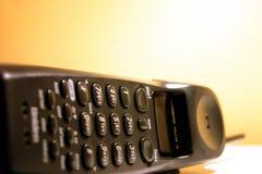 Telephone. Closeup of a wireless telefone stock photography