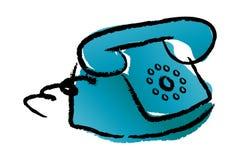 Telephone. Vector illustration isolated background Stock Photography