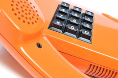 Telephone from the 80s royalty free stock photography