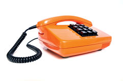Telephone from the 80s stock photo