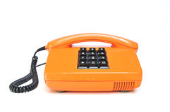 Telephone from the 80s royalty free stock images
