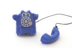 Telephone. Plastic toy telephone Stock Image