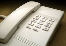 Telephone with alchemic signs. Instead of numbers Stock Photos
