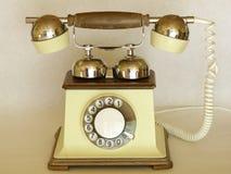 Telephone analog vintage Stock Photos