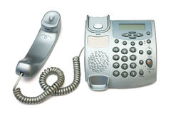 Telephone And Pipe Stock Photography