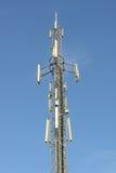 Telephone antenna stock photo
