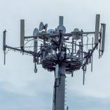 a telephone antenna Stock Photo