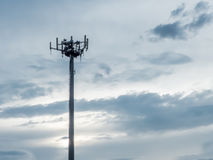 a telephone antenna Royalty Free Stock Images