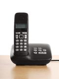 Telephone with base station Royalty Free Stock Photos