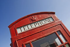 Telephone boot royalty free stock photography