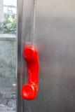 Telephone booth of the austrian telekom Stock Photos