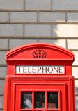 Telephone booth in London Royalty Free Stock Photography