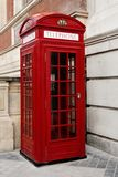 Telephone booth london stock image