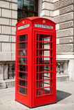 Telephone booth. London, UK Stock Images