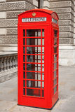 Telephone booth. London, UK Royalty Free Stock Photos