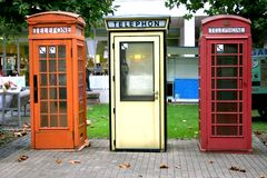 Free Telephone Booths Royalty Free Stock Image - 250596