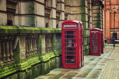 Telephone Booths Royalty Free Stock Photography