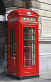 Telephone box. A Red London Telephone box Stock Photography