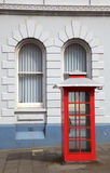 Telephone Box. A traditional telephone box in Albany, Western Australia Royalty Free Stock Photography