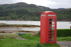 Telephone Box. stock photography