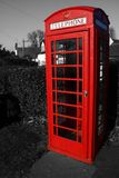 Telephone box abstract Stock Photography