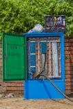 Telephone Box Installation Royalty Free Stock Image