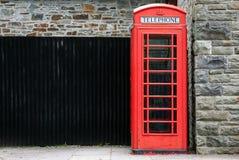 Telephone box kiosk Stock Photos