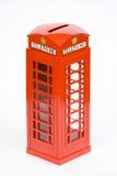 Telephone box money bank Royalty Free Stock Image