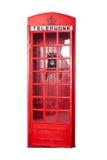 Telephone box. Stock Photo