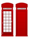 Telephone box Royalty Free Stock Photos