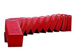 Telephone boxes Royalty Free Stock Photo