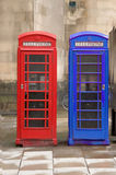 Telephone Boxes Stock Images