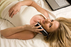 Telephone break Royalty Free Stock Photography