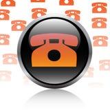 Telephone button Royalty Free Stock Photos