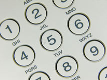 Telephone button. Close-Up stock photos
