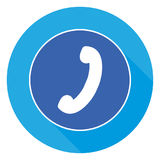 Telephone Button royalty free illustration