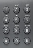 Telephone buttons Stock Image