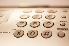 Telephone buttons Royalty Free Stock Images