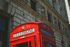 Telephone Cabin Royalty Free Stock Photography