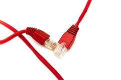Telephone cable Royalty Free Stock Photos