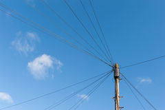 Telephone cables Royalty Free Stock Photos