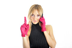 Telephone call Stock Photography