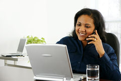 Telephone Call Royalty Free Stock Photography